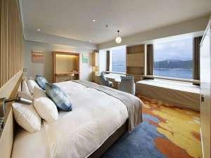 グランドプリンスホテル広島:クラブフロア:プレミアデラックスツイン(46平米)※一例