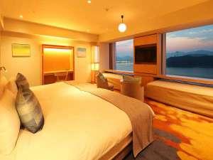 グランドプリンスホテル広島:クラブフロア:プレミアデラックスツイン(46㎡)※一例