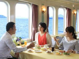 グランドプリンスホテル広島:モーニングブッフェクルーズ※イメージ