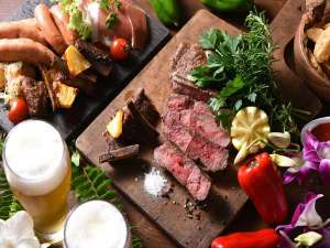 グランドプリンスホテル広島:海辺のビアホール:世界各国のお料理が食べ放題!