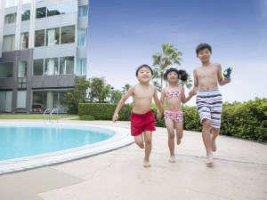 グランドプリンスホテル広島:屋外プール