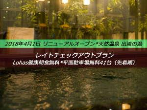 スーパーホテル小山 天然温泉 出流の湯