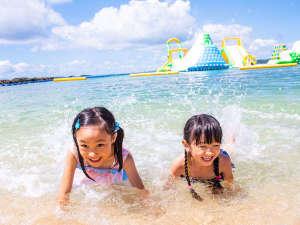 カヌチャベイホテル&ヴィラズ:【カヌチャビーチ】3/31海開き!わんぱくキッズも大満足!ドキドキわくわくの体験が満載!