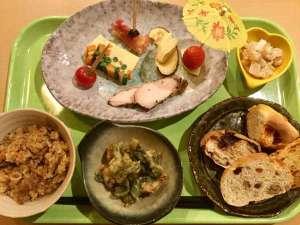 川上山荘:夕飯例