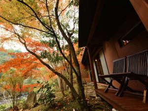 山荘 天水:天水の紅葉
