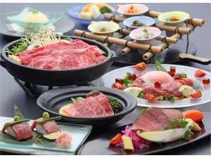 休暇村 近江八幡:2017年初夏の近江牛会席。近江牛のすきやき、陶板焼きに炙り寿司など盛り沢山♪