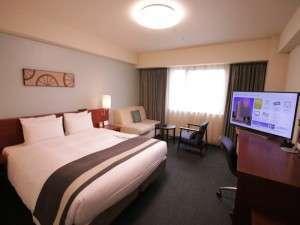 リッチモンドホテル横浜馬車道:【大型テレビ設置!/デラックスダブル】2/1より全室テレビを入れ替えました!