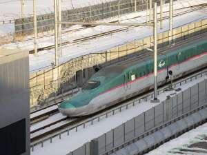 ホテル・ラ・ジェント・プラザ函館北斗:お部屋からは北海道新幹線を見ることもできます!(一部客室のみ。指定はできません)