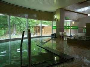旅館 塩別つるつる温泉:夏の大浴場1