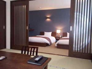 旅館 塩別つるつる温泉:平成26年7月12日オープン新館和洋室②
