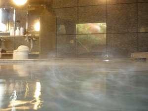 ホテルルートイン酒田:夜は2時まで、朝は5時~チェックアウトまで、お好きな時間に何度でも入れるラジウム人工温泉大浴場