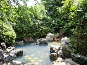 大金温泉グランドホテル:那須の自然に囲まれた露天風呂