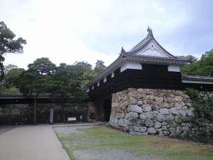 国指定重要文化財の高知城です☆ホテルから徒歩で10分程に位置しております♪