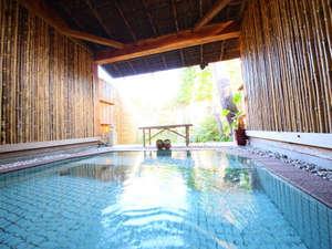 ハーブの宿 檪(kunugi):【アジアン露天風呂】