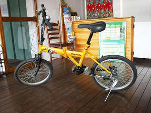 かもめホテル:自転車レンタル無料です。海までひとっ走り!
