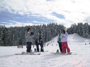 休暇村 羽黒:【羽黒山スキー場】初心者から上級者まで満足させるスノーリゾート!