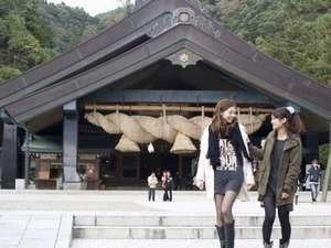 出雲神々 縁結びの宿 紺家:縁結びの神社として有名な出雲大社。毎日たくさんの女性の方が出雲大社を参拝されます。