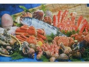 旅館 山一:オホーツク・日本海のおいしい海の幸