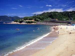 割烹旅館寿美礼:【並び松海水浴場】下関北部、北浦地域。響灘は海の色も美しく、観光客でにぎわいます♪(車で50分)