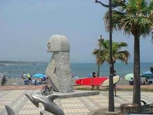 九十九里浜 ペンション&民宿 太陽:太東岬公園で浜辺でお散歩(^^)
