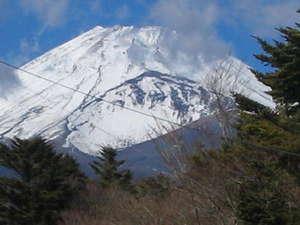 サジタリウス:冬の富士山。この迫力は感動ものです!