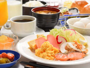 三沢シティホテル:朝食(バイキング)