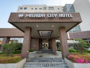 三沢シティホテル:ホテルエントランス