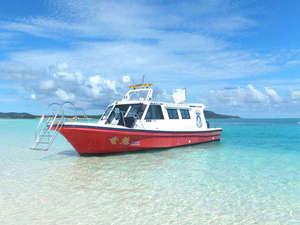 リゾートホテル久米アイランド:*【はての浜】東洋一の美しさと言われる無人島(泊フィッシャリーナから船で約20分)