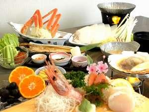 ホテル滝川:通常プラン夕食(イメージ)季節により料理の内容が異なります。