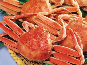 宮島温泉 滝乃荘:新鮮な生きのいい蟹を召し上がっていただくために当日仕入れにこだわっています。
