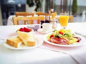 近江八幡ステーションホテル:1階レストランでのご朝食