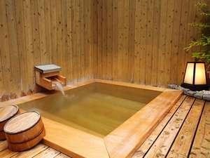 ■屋上露天風呂■お風呂のお湯は、源泉をそのまま使っているから美肌効果抜群!