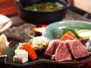奥飛騨ガーデンホテル焼岳(やけだけ):囲炉裏料理
