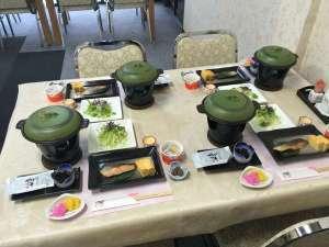 岩原ニューホテル:朝食