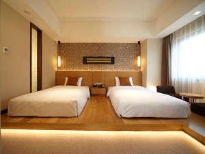ロイヤルパークホテル ザ 福岡:ジュニアスイート(ベッドルーム)