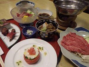 赤倉温泉 みどりや旅館:地元の旬の食材を使った創作料理になります