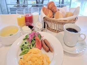 ホテルハーバー横須賀:ご朝食。セットメニュー。