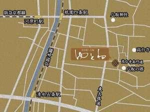 八坂ゆとね地図