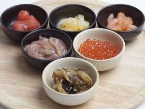 北海道の郷土料理松前漬やいくら等、ご飯が進むお供が充実★