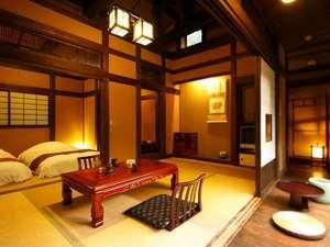 八幡野温泉郷 杜の湯 きらの里:【竹ぶえ】古民家の設えが懐かしい宿。源泉掛け流しの露天風呂付き