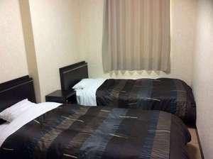 ビジネスホテルHIBARI(ビジネスホテルひばり):ツインルーム(シングルベッド×2)