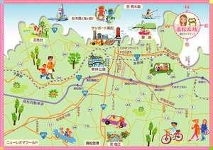 高松市イラストマップ