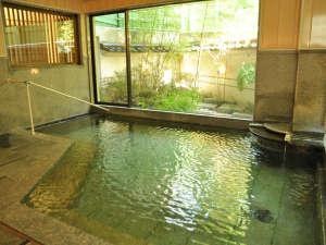 湯田川温泉 仙荘 湯田川:*【大浴場/笑湯】湯田川温泉は庄内三名湯のひとつ。トロトロの泉質でお肌ツルツル♪