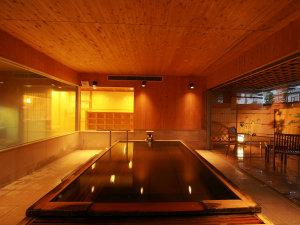 かけ流し源泉の宿 渋の湯:ます風呂