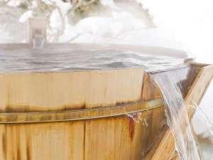 なんぽろ温泉ハート&ハート(南幌温泉):冬の露天風呂はゆっくりと浸かりながら星空を眺めるのも良いです。
