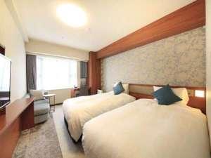 リッチモンドホテル東京目白:【ツイン】25㎡|110cm幅ベッド|ベッ同士がくっついたハリウッドベッド