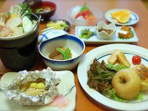 宮田屋旅館:ご夕食一例