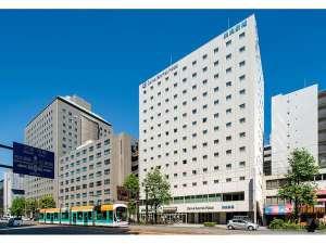 ダイワロイネットホテル広島:中国電力様の隣に当ホテルはございます。