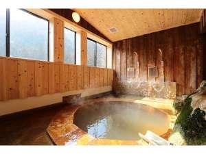 赤城温泉 花の宿 湯之沢館:内風呂「赤城名月風呂」
