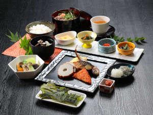 【朝食ブッフェ】和食系の盛り付け例♪一日のスタートに☆朝食ブッフェで活力を!!